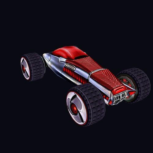 car 023D model