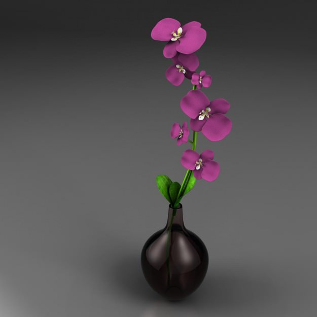 3d models of plants, flowers for 3ds Max 1