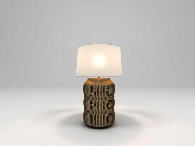 anyam table lamp3D model
