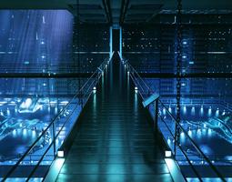 Sci-Fi environment 3D Model