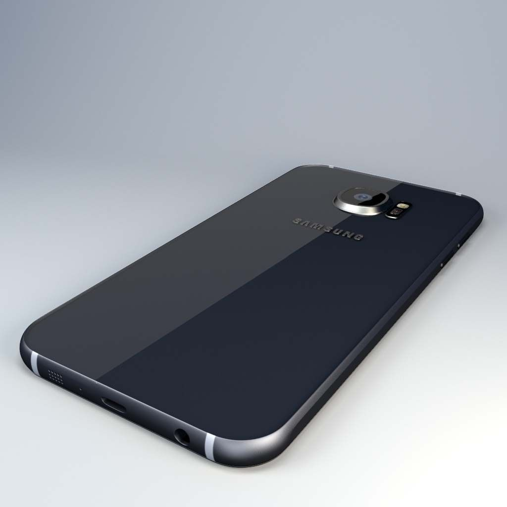 Samsung Galaxy S6 Model 3d Model Max Obj 3ds Fbx Ma