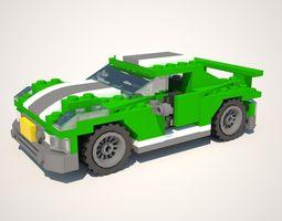 LEGO Street Speeder 3D Model