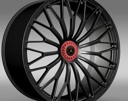 Lamborghini Aventador LP 750 4 SV  rim 3D Model