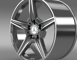 Mercedes Benz C 400 4Matic AMG line  rim 3D Model
