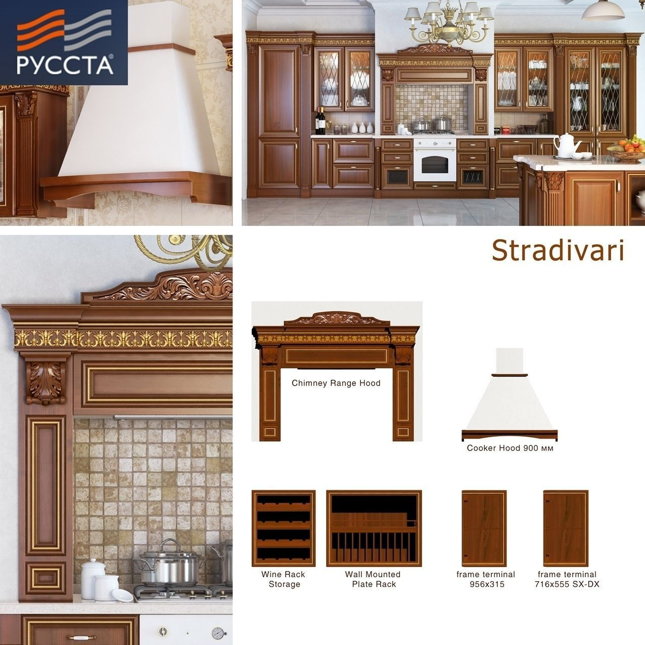 Stradivarius facade line for kitchen and c 3d model for Kitchen cabinet lines