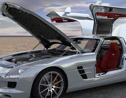 SLS AMG 3D Model