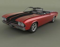 Chevrolet Chevelle  Convertible 3D Model