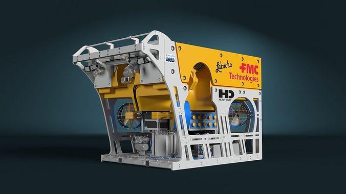 fmc hd rov 3d model 3d model animated max 1