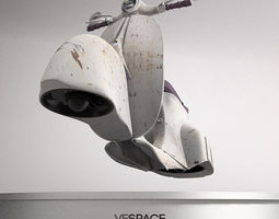 Vespace The flying scooter transport 3D Model
