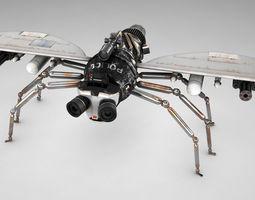 Police fly 3D Model
