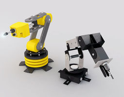 Robotic Arm 3D