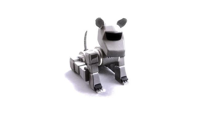 Cyber Dog3D model