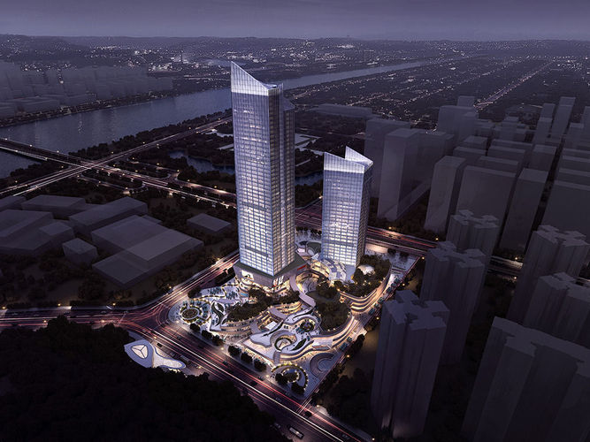 Business Center Office Building3D model