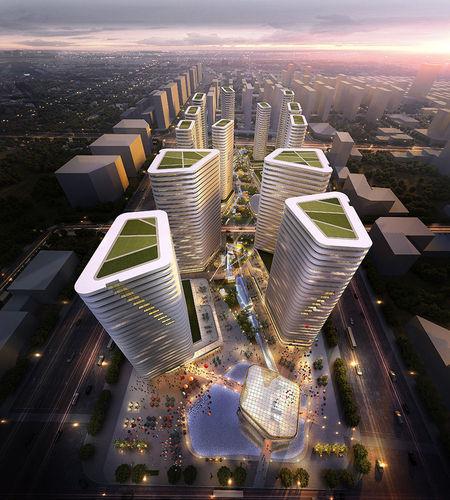 City Center Building3D model