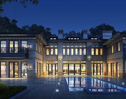 3D Classical villa