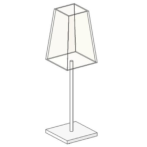 Lampe de bureau 02 free 3d model rfa for Model de bureau secretaire