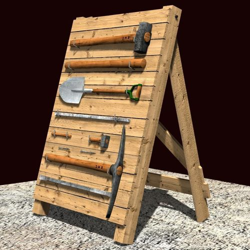 Toolholder - Tool Stand3D model