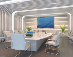 Indoor garde company 3D model