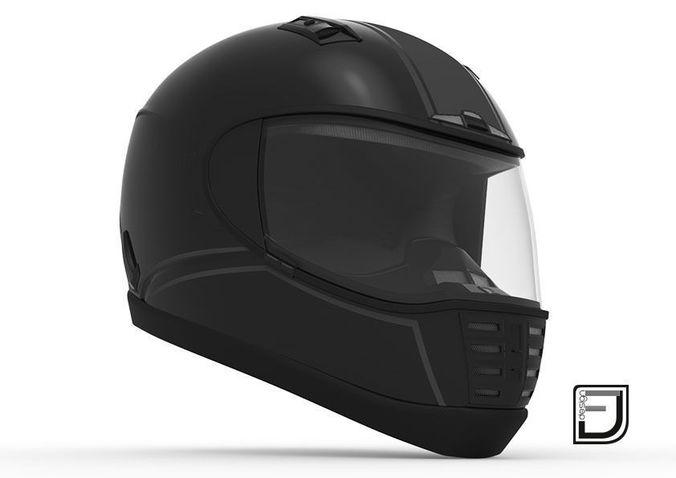 Black Helmet 053D model