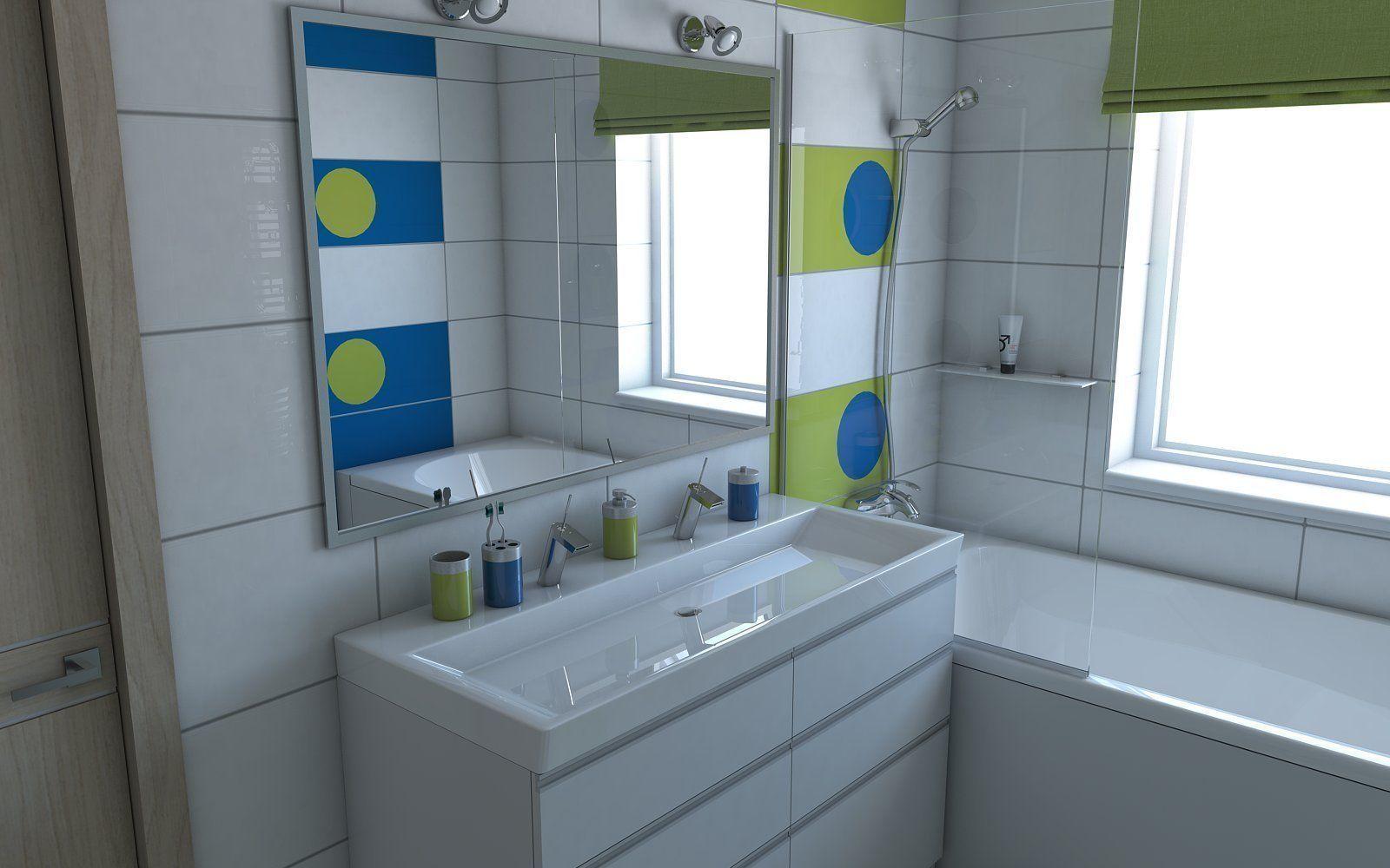 Bathroom 8 3d model skp for New model bathroom