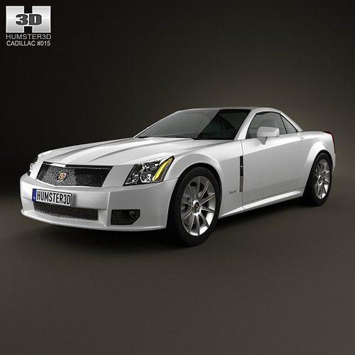Cadillac XLR 2009 3D model | CGTrader