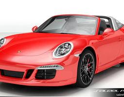 3D Porsche 911 Targa GTS 2015