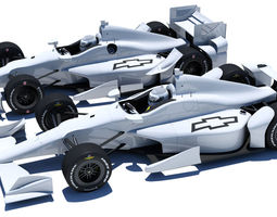 indycar chevrolet road and oval aero kit 3d