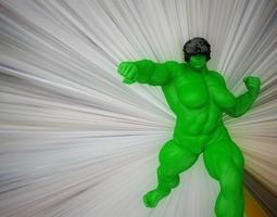 female hulk 3d model obj fbx ma mb stl dae mtl