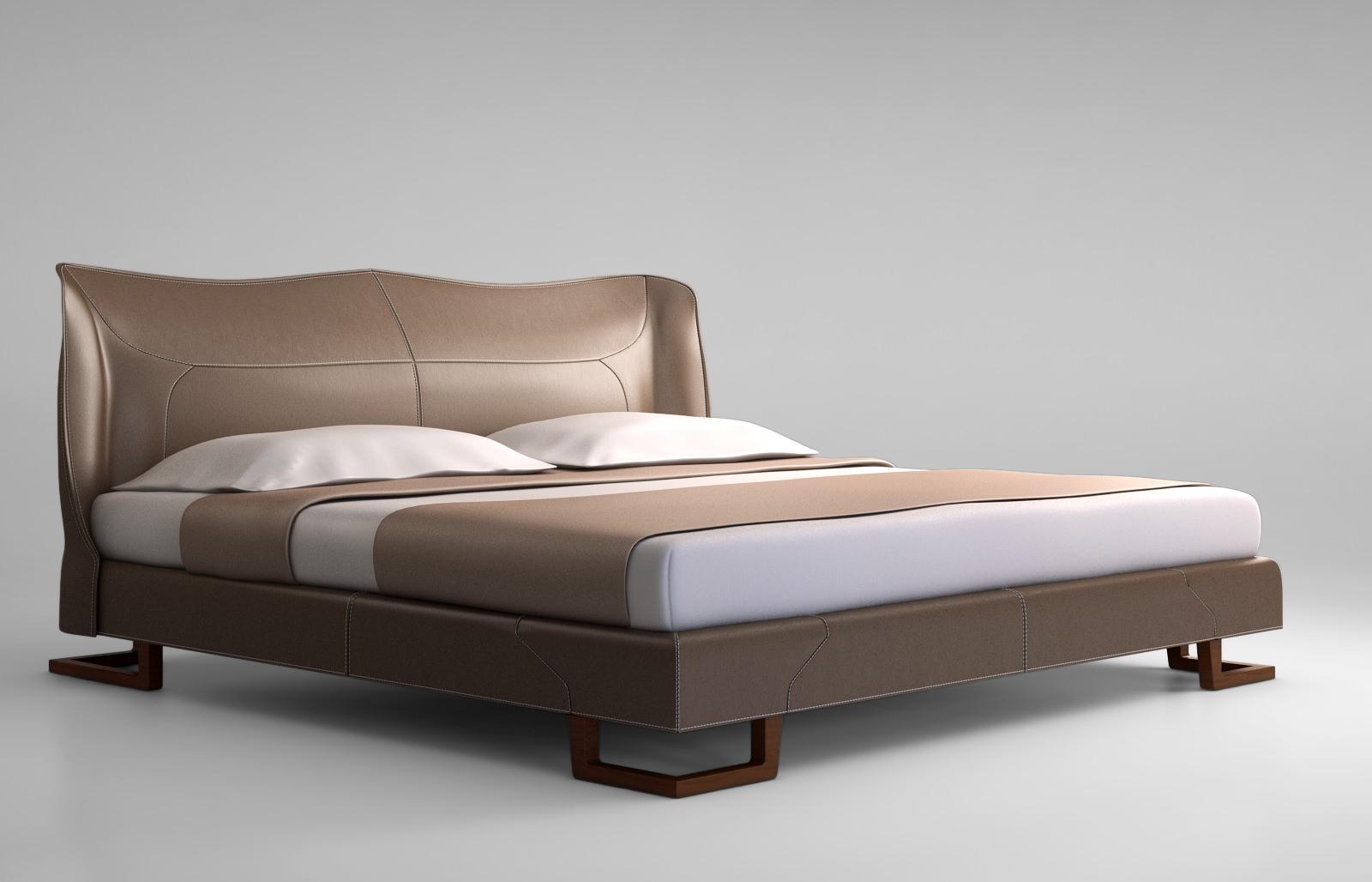 Giorgetti corium bed 3d model for C furniture new lynn