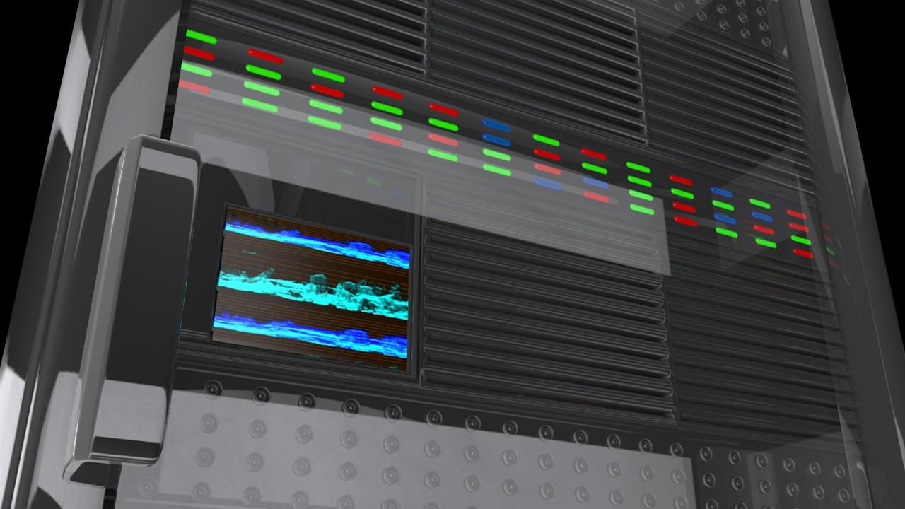 Cpu Server Rack Unit 3d Model 3d Model Fbx C4d Dae