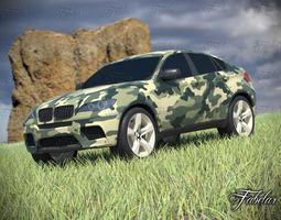 BMW X6 mod2 3D Model