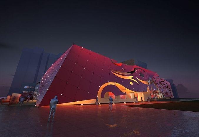 Theatre Night3D model