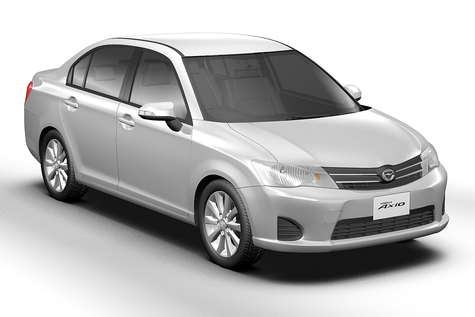 2013 toyota corolla axio japan 3d model max obj 3ds fbx c4d lwo lw lws. Black Bedroom Furniture Sets. Home Design Ideas