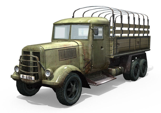 Army Truck3D model