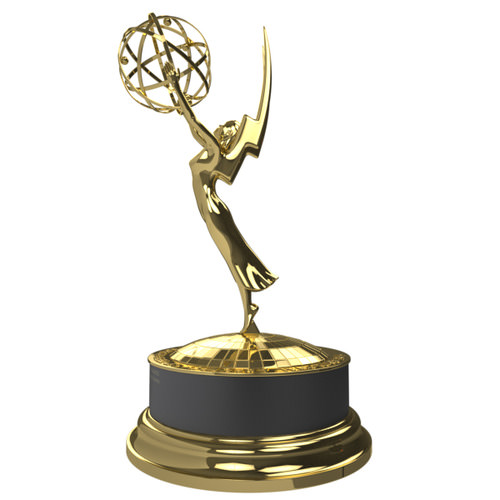 emmy award 3d model max obj 3ds c4d lwo lw lws ma mb 1
