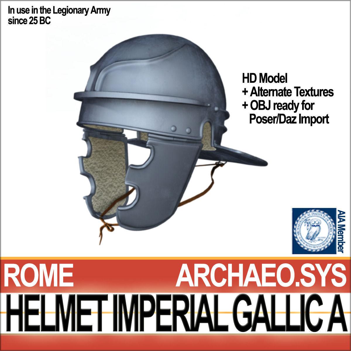 Roman Legionary Helmet Imperial Gallic A