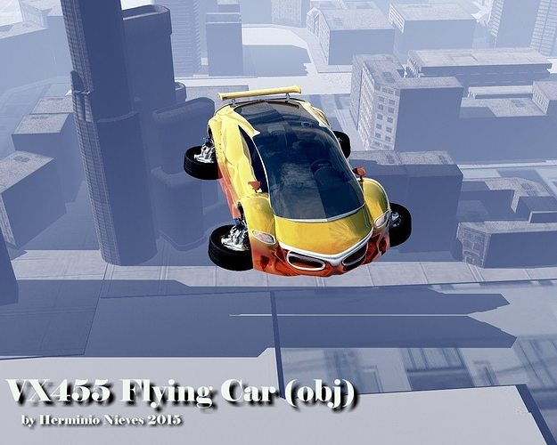 Image result for Flying car 3D: