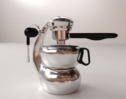 Espresso Maker shop 3D
