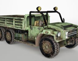 Truck game ready 3D Model
