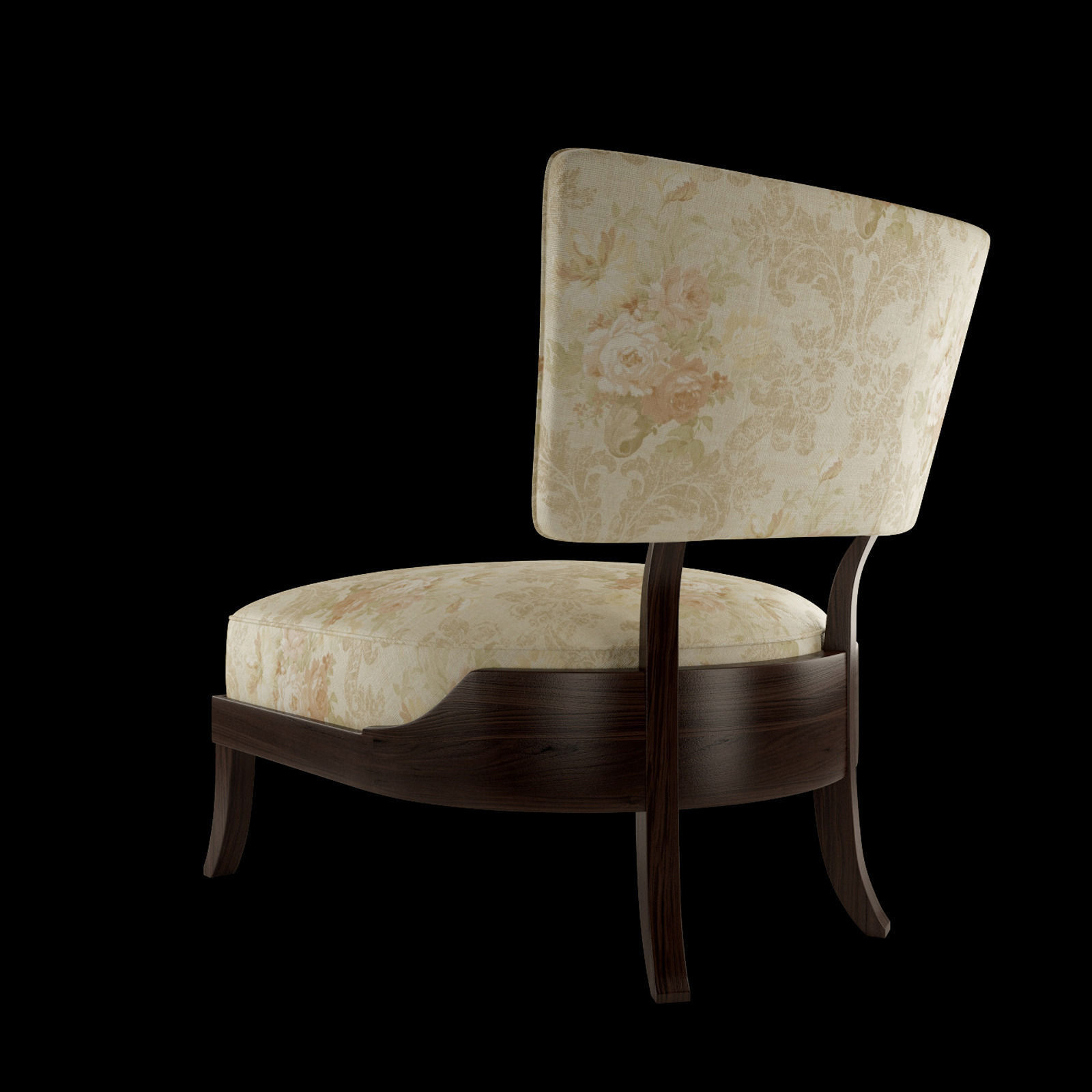 Baker victoire chair free 3d model max fbx for Chair 6 mt baker