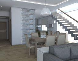 living room 10 3d model