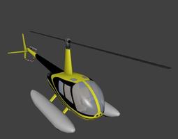Robinson R44 Clipper 3D model