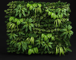 Green wall fytowall 3D model