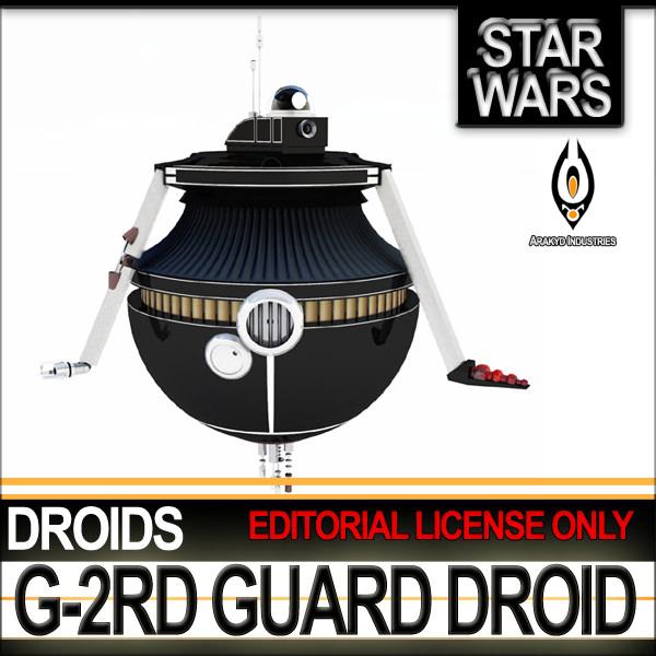 G-2RD Guard Droid Star Wars