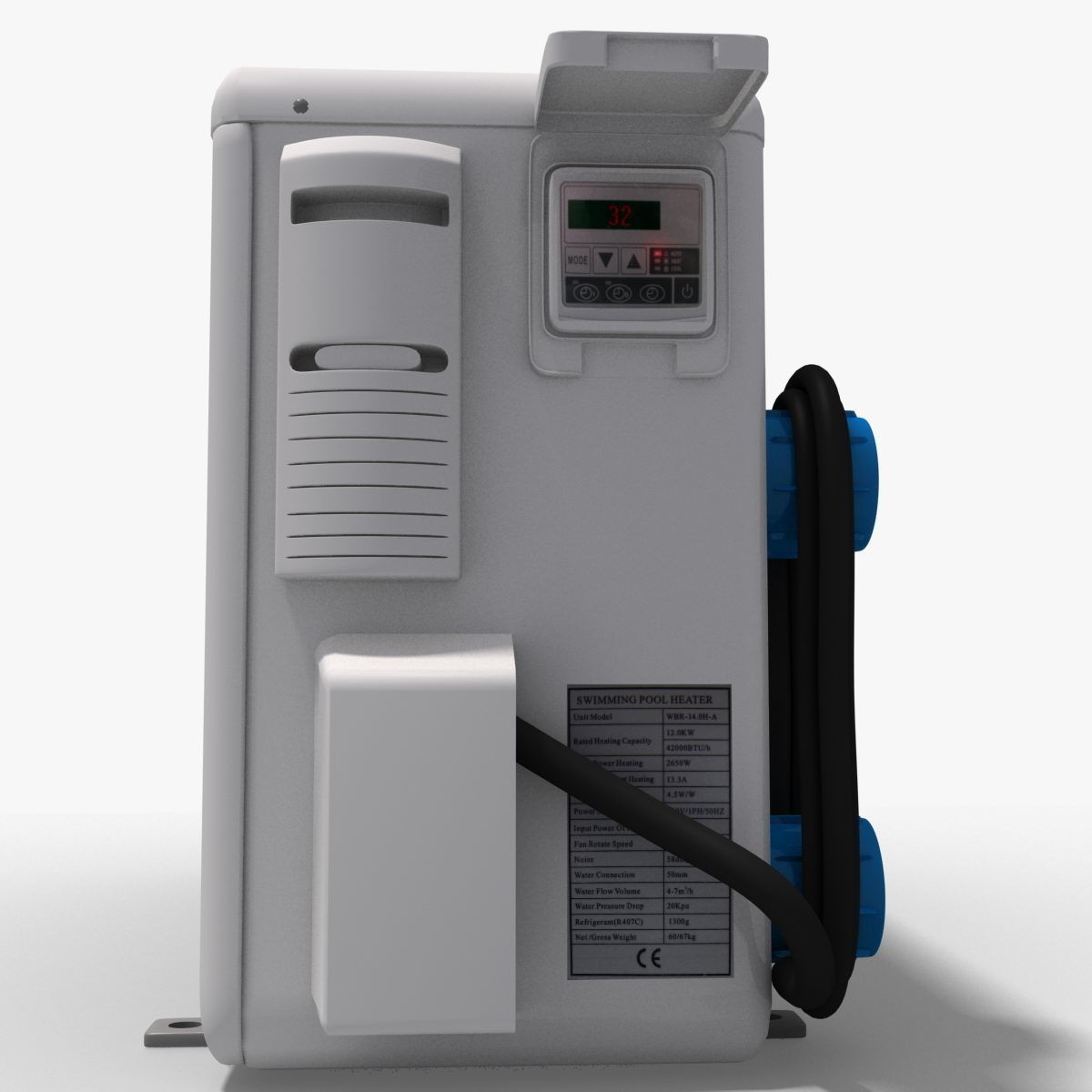 Water Boiler Model ~ Water heater d model max obj cgtrader