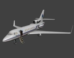 3D model Dassault Falcon 50