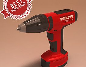 3D Hilti Battery Screwdriver SFC-14A