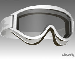 Generic Motocross Goggles 3D Model
