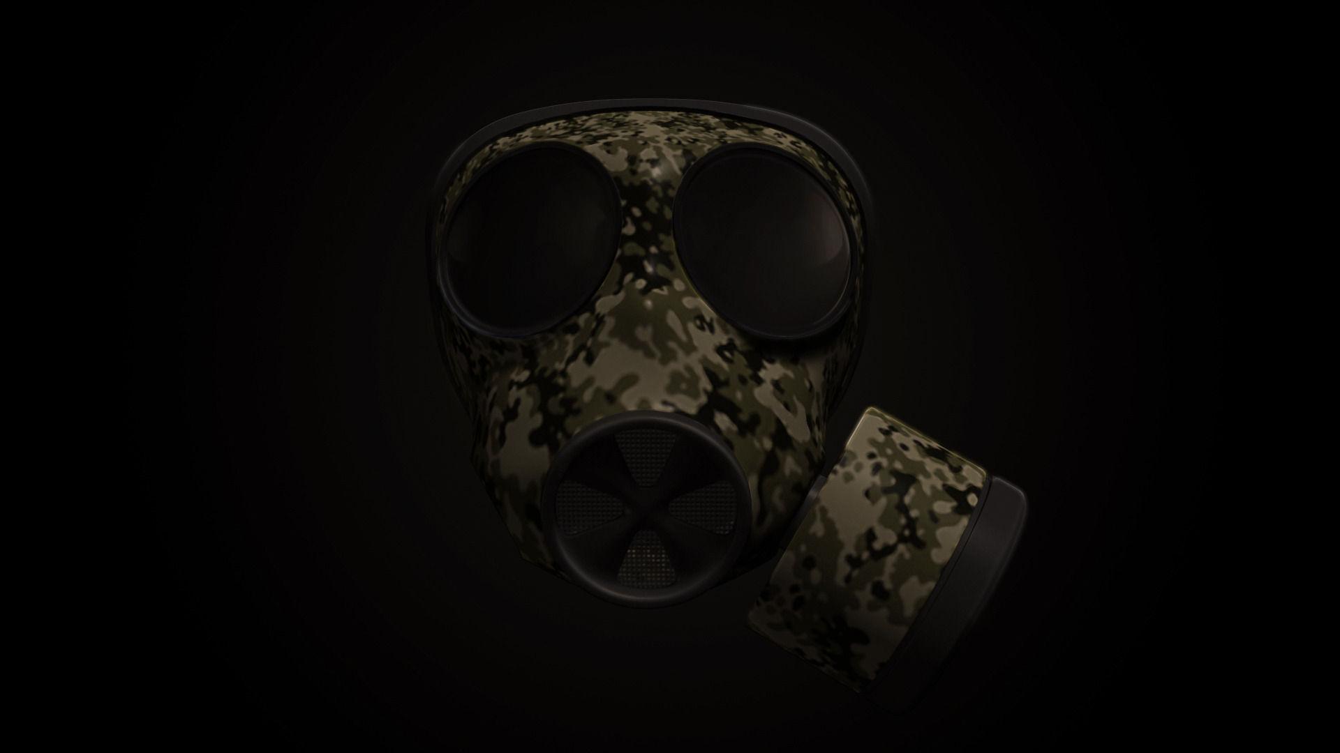 Gas Mask 3D Model .obj .fbx .ma .mb - CGTrader.com