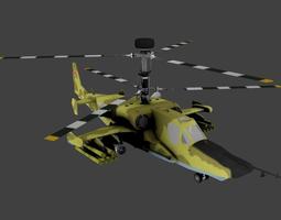 3D model Kamov Ka 50 Black Shark
